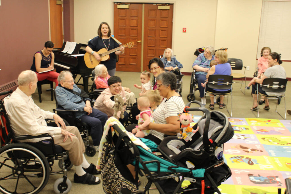 Mommy and Me Intergeneration Music Therapy Program